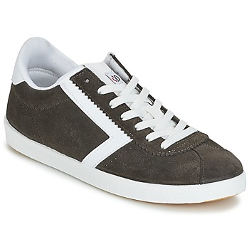 Schuhe Damen Sneaker Low Yurban GUELVINE Grau