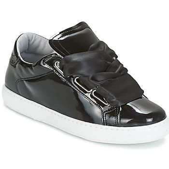 Schuhe Damen Sneaker Low Yurban HOURIX Schwarz