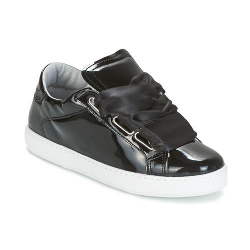 Yurban HOURIX Damen Schwarz  Schuhe Sneaker Niedrig Damen HOURIX 59,99 6a8df7