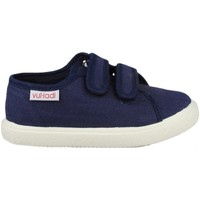 Schuhe Kinder Sneaker Low Vulladi PIQUE BLUE