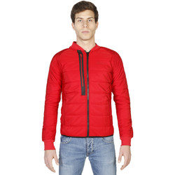 Kleidung Herren Parkas Geographical Norway Jacke Rot