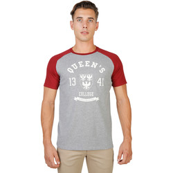 Kleidung Herren T-Shirts Oxford University T-shirt Rot