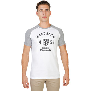 Kleidung Herren T-Shirts Oxford University T-shirt Grau