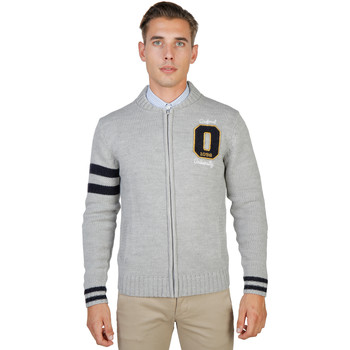 Kleidung Herren Strickjacken Oxford University Pullover Grau