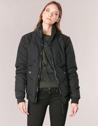 Kleidung Damen Jacken G-Star Raw STRETT CHEVRON JKT Schwarz
