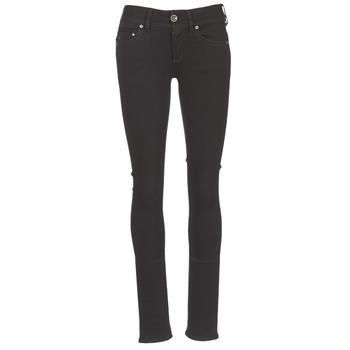 Kleidung Damen Straight Leg Jeans G-Star Raw MIDGE SADDLE MID STRAIGHT Schwarz