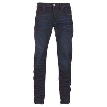Kleidung Herren Straight Leg Jeans G-Star Raw 3301 DECONSTRUCTED SLIM Blau