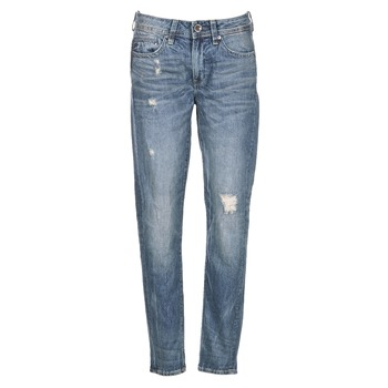 Kleidung Damen Boyfriend Jeans G-Star Raw MIDGE SADDLE BOYFRIEND WMN Blau