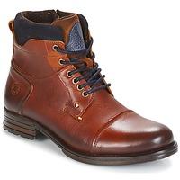 Schuhe Herren Boots Coxx Borba AGOZ Camel / Blau