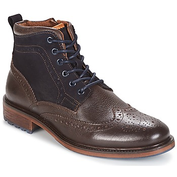Schuhe Herren Boots Coxx Borba RESERVA Braun / Marine