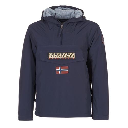 Kleidung Herren Parkas Napapijri RAINFOREST Marine
