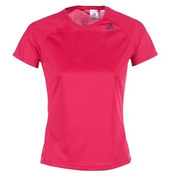 Kleidung Damen T-Shirts adidas Performance D2M TEE LOSE Rose