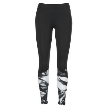 Kleidung Damen Leggings adidas Performance TF TIG LT PR1 Schwarz