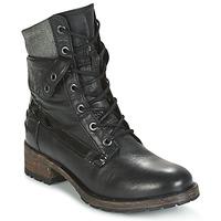 Schuhe Damen Boots Pataugas DEDAY Schwarz