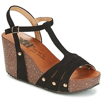 Schuhe Damen Sandalen / Sandaletten Xti  Schwarz