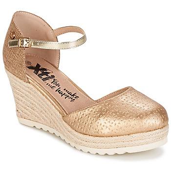 Schuhe Damen Sandalen / Sandaletten Xti  Goldfarben