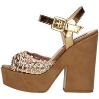 Schuhe Damen Sandalen / Sandaletten Silvana 717 Sandelholz Frau Bronze Bronze