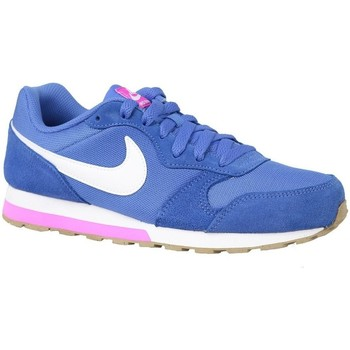 Schuhe Damen Sneaker Low Nike MD Runner 2 GS Blau