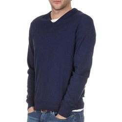 Kleidung Herren Pullover Hackett PIMA COTTON V NECK Blue