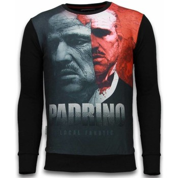 Kleidung Herren Sweatshirts Local Fanatic El Padrino Two Faced Schwarz
