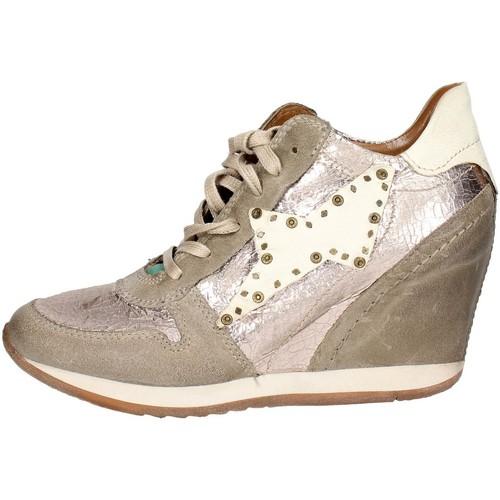 Airstep / A.S.98 186203 Hoch Sneakers  Damen  Platin  Platin - Schuhe Sneaker Low Damen 148,34
