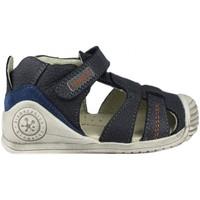 Schuhe Kinder Sandalen / Sandaletten Biomecanics  BLUE