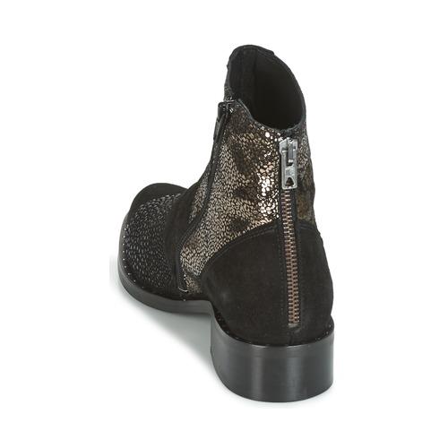 Philippe Morvan SILKO SILKO SILKO V1 CR VEL NOIR Schwarz Schuhe Boots Damen 84,50 16b83c