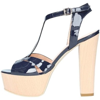Schuhe Damen Sandalen / Sandaletten Emporio Di Parma 818 blau