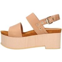 Schuhe Damen Sandalen / Sandaletten Emporio Di Parma 830 Leder