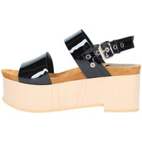 Schuhe Damen Sandalen / Sandaletten Emporio Di Parma 830 schwarz