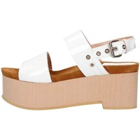 Schuhe Damen Sandalen / Sandaletten Emporio Di Parma 830 weiß