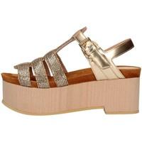 Schuhe Damen Sandalen / Sandaletten Emporio Di Parma 836 Gold