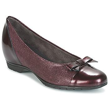 Schuhe Damen Ballerinas Pitillos 3614 Bordeaux