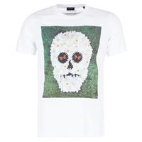 Kleidung Herren T-Shirts Diesel JOE QM Weiss