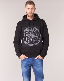 Kleidung Herren Sweatshirts Diesel ALBERT Schwarz