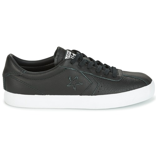 Converse BREAKPOINT FOUNDATIONAL LEATHER OX OX OX BLACK/BLACK/WHITE Schwarz / Weiss  Schuhe Sneaker Low Damen 67,99 f663a7