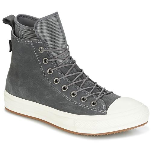 Schuhe Herren Sneaker High Converse CHUCK TAYLOR WP BOOT NUBUCK HI MASON/EGRET/GUM Grau