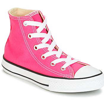Schuhe Mädchen Sneaker High Converse CHUCK TAYLOR ALL STAR SEASONAL HI PINK POW Rose