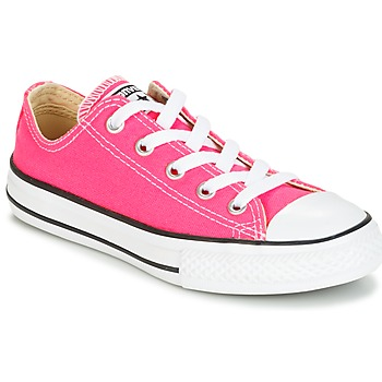 Schuhe Mädchen Sneaker Low Converse CHUCK TAYLOR ALL STAR SEASONAL OX PINK POW Rose