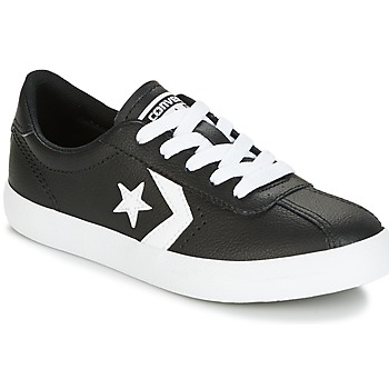 Schuhe Kinder Sneaker Low Converse BREAKPOINT FOUNDATIONAL LEATHER BP OX BLACK/WHITE/BLACK Schwarz / Weiss