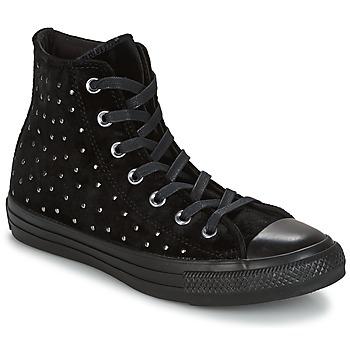 Schuhe Damen Sneaker High Converse CHUCK TAYLOR ALL STAR HI Schwarz