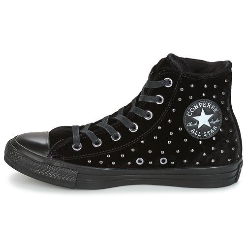Converse CHUCK TAYLOR ALL STAR HI Schwarz