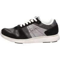 Schuhe Herren Sneaker Low Pierre Cardin PC404 U Sneakers Mann Schwarz Schwarz