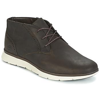 Schuhe Herren Sneaker High Timberland FRANKLIN PRK CHUKKA braun