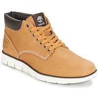 Schuhe Herren Sneaker High Timberland BRADSTREET CHUKKA LEATHER Braun