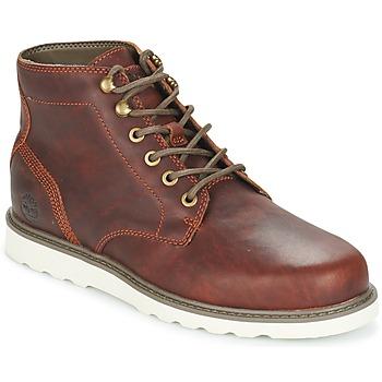 Schuhe Herren Boots Timberland NEWMARKET LUG PT CHUKKA Braun