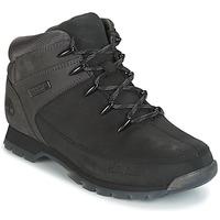 Schuhe Herren Boots Timberland EURO SPRINT HIKER Schwarz / Grau