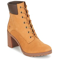 Schuhe Damen Low Boots Timberland ALLINGTON 6IN LACE UP Braun
