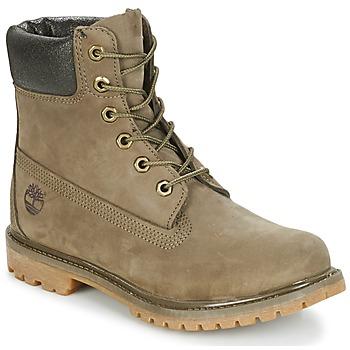 Schuhe Damen Boots Timberland 6IN PREMIUM BOOT - W Canteen / Braun
