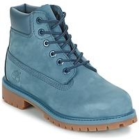 Schuhe Kinder Boots Timberland 6 IN PREMIUM WP BOOT Blau